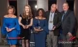 Endeavor's Elite Customer Service Excellence Honorees: Carol Freund, Sarah Heizler, Gwen Hollomon, CA John Hunter, with Jay Furnish, Vice President, Network Planning.