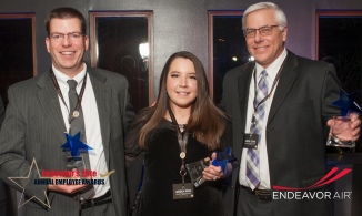 Endeavor's Elite Safety Excellence Honorees: Dave Nelson, Jessica Renz, CA Steve Levin